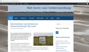 Website Schiermonnikoog