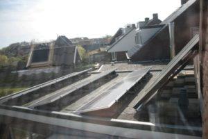zonnecollector, zonnepanelen, energieneutraal, Boomen, Texel