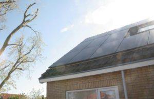 zonnepanelen, energieneutraal, Kruik, Texel