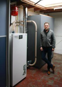 ÖkoFEN pelletketel energieneutraal Schuijl Texel