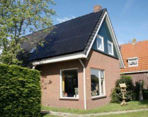 zonnepanelen, energieneutraal, Standaart, Texel